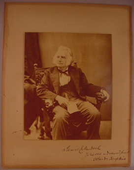 Antique Mid 19th Century Photograph of American Actor James E. Murdoch