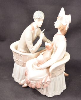 "Lladro Porcelain Figurine Model #4830 ""You And Me"""
