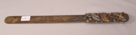 Beautiful Antique Meiji Period Mixed Metal Japanese Letter Opener