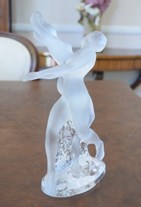 Lalique Double Nude Dancers List MSRP in 1999 Was $1970
