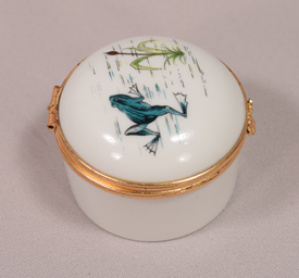 Hand Painted Large Limoges Signed SA Porcelain Limoges France